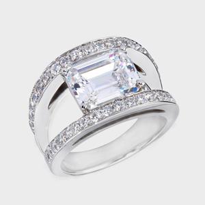 1 2 Carat Cubic Zirconia Engagement Ring