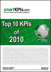 Top 10 KPIs of 2010 report from smartKPIs.com