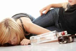 Teenage Girls With Drinking Problem