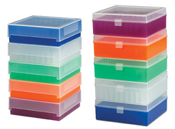 Scienceware 81-Place and 100-Place Polypropeylene Freezer Storage Boxes  sc 1 th 185 & Sturdy and Secure Frozen Sample Storage with Scienceware® 81-Place ...