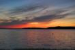Beautiful Sunsets on Crystal Lake in Benzie County