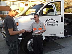 tow truck service, roadside assistance, towing service contra costa