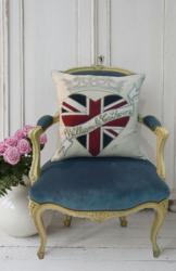 Jan Constantine's Royal Wedding pillow is one of the more contemporary high-end collectibles fashioned to commemorate the April 29 wedding of Prince William and Catherine Middleton.