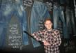 Benn Geldart – a self-confessed denim fanatic – has created a 'wall of denim' in the new Yarm-based mens clothing shop, Social Store