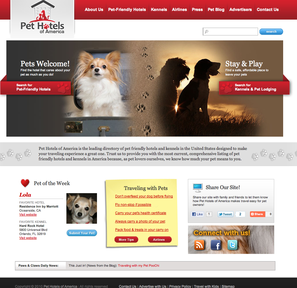 Pet Friendly Apartment Search: Pet Travel Website Launches, Simplifies Search For Pet