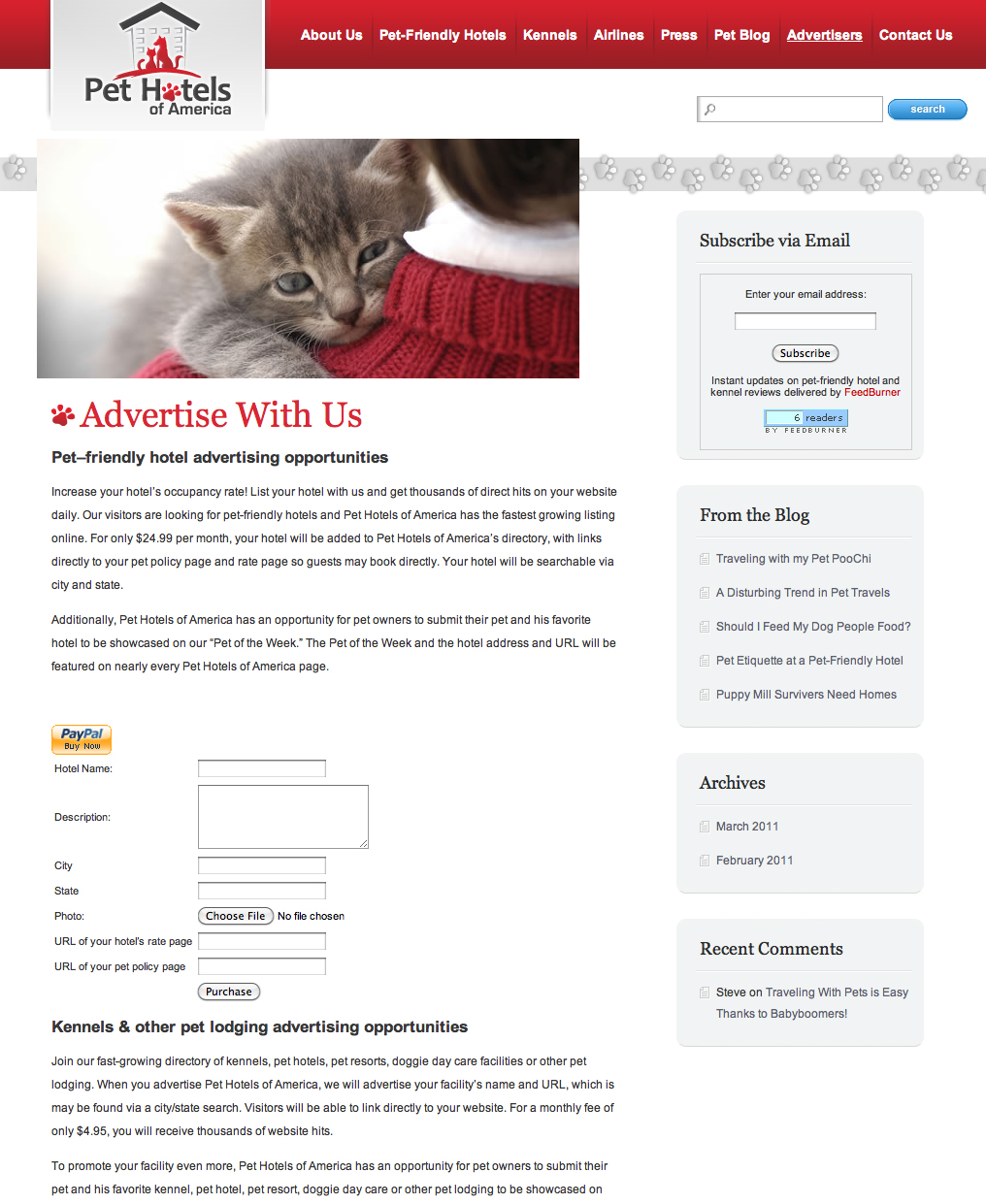 Friendly Find For Your Job Search: Pet Travel Website Launches, Simplifies Search For Pet