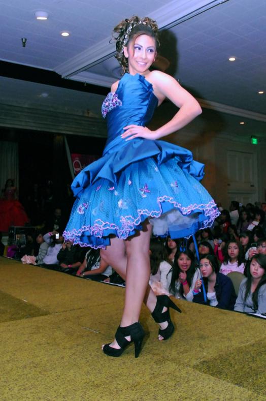 Quinceañera Expo and Fashion Show Enchants Latina Valley Girls | 524 x 789 jpeg 355kB