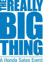 The Really Big Thing Sales Event
