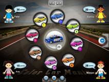 Color Car Mania for the iPad