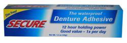 zinc free denture adhesive