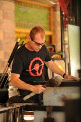 GlassFest features free live glassblowing demos all weekend long.