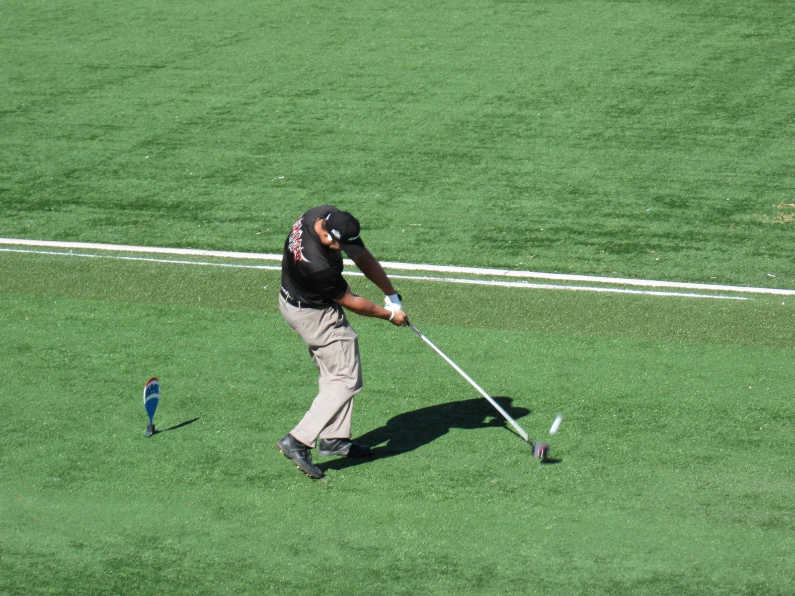 Ryan Winther es el golfista que ha logrado la mayor velocidad.