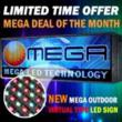 On sale: Outdoor full color 16mm LED sign