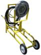 explosion proof LED cart for paint spray booths and hazardous location tanks