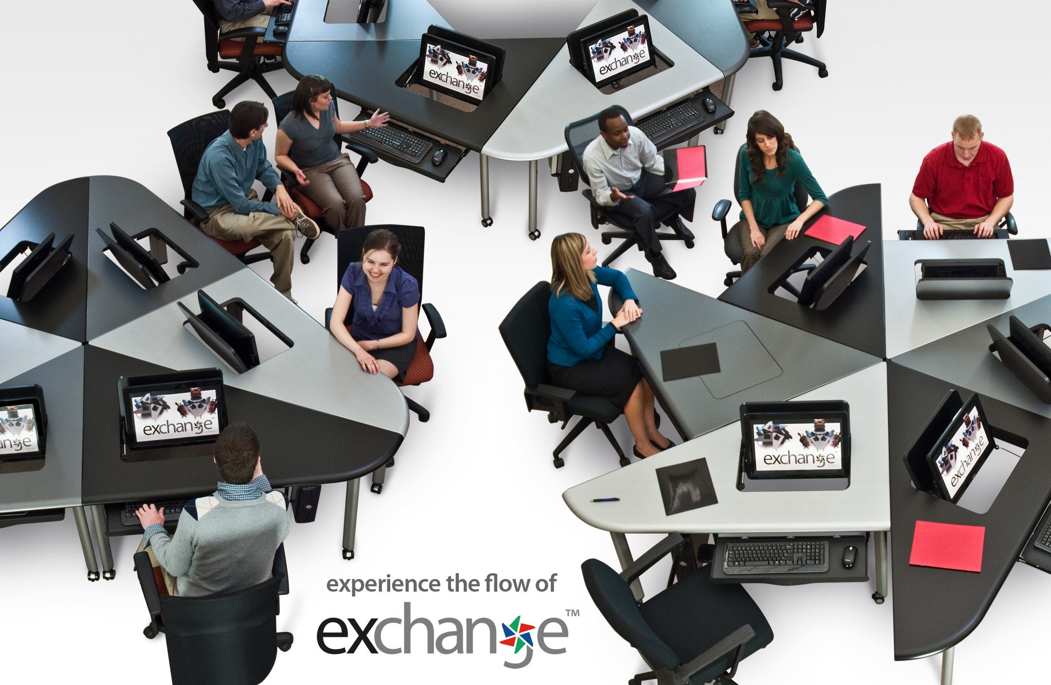 Smartdesks launches exchange collaboration furniture for for Furniture exchange