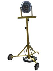 explosion proof LED light with wheeled tripod - 150 watts