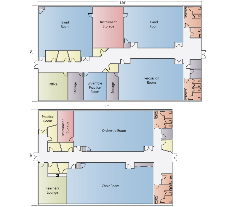 Modular Classroom Floor Plans ~ Pac van takes away two modular building institute awards