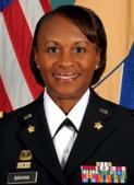 Quartermaster General Colonel Gwen Bingham