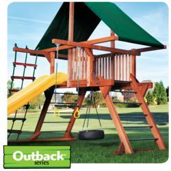 Swing Sets - Angled-Base Outback Swing Set