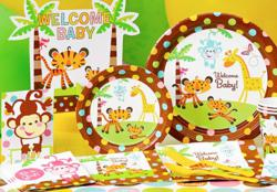 Fisher Price jungle animals baby shower kit.