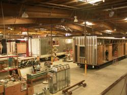 modular building manufacturing facility