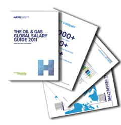 oil and gas global salary guide 2011