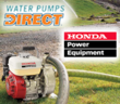 Water Pumps Direct Adds Honda Power Equipment