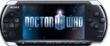 Doctor Who comics cover on the PSP.