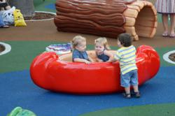 PLAYTIME indoor play area at Life Time Fitness