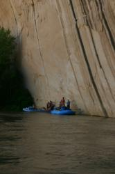 Overnight whitewater rafting trips.
