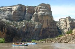 Multi-day rafting in Utah and Colorado in Yampa Canyon.