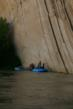 Tiger Wall on the Yampa River in Dinosaur National Monument.