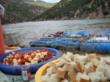 Enjoy catered meals on all multi-day whitewater rafting trips through Dinosaur National Monument with Adrift Adventures.