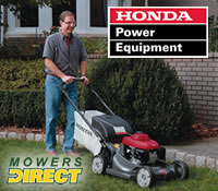 Honda Lawn Mowers, Rototillers and String Trimmers @ Electric Generators Direct