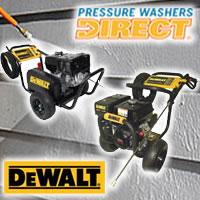 Dewalt Pressure Washers @ Pressure Washers Direct