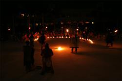 Earth Hour 2010 in Hacienda Tres Rios Riviera Maya