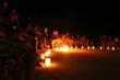Mayan fire show at Hacienda Tres Rios during Earth Hour 2010