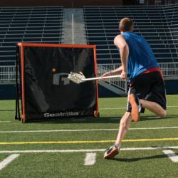 Lacrosse Training Drills using the G Trainer Dampening Side