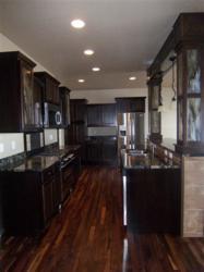 Elkhorn Ridge's new spec home includes a custom kitchen.