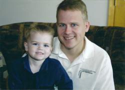 Colton and Todd Burpo