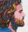 The author paints her male protagonist: James Fee