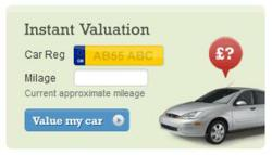 free part exchange car valuation