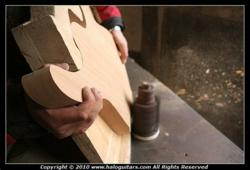 Halo instruments are handcrafted by expert builders.