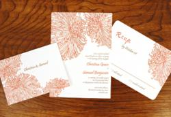 Wedding Invitation Suite from Delphine on Cardstore.com
