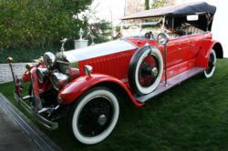 A rare 1925 Rolls-Royce Topedo Tourer