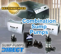 Best Combination Sump Pumps @ Sump Pumps Direct