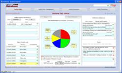 The IRv3 Admin Dashboard depicts primary navigation using SMS components of Safety Policy, Safety Risk Management, Safety Assurance, and Safety Promotion
