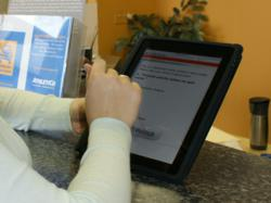 AthletiCo measures patient outcomes and satisfaction using a mobile digital device.