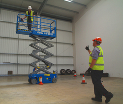 IPAF training, MEWP course, work at height, cherry picker, boom lift, scissor lift