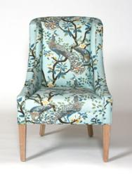 Calico Corners - Calico Home Chair covered in fabric from DwellStudios
